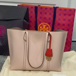 Tory Burch Triple Compartment Perry Tote